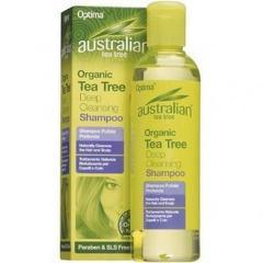 Sampon Antiseptic Curatare Profunda Cu Ulei Din Arbore De Ceai (Tea Tree) 250ml OPTIMA