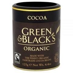 "CACAO ""GREEN&BLACK'S"" ECO 125g UNICORN NATURALS"
