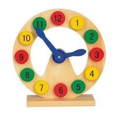 Ceas pentru invatat si jucat COLOURED TIME