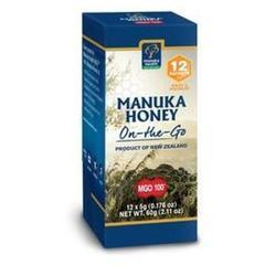 Miere de Manuka (MGO 100+) 12 plicuri*5g MANUKA HEALTH