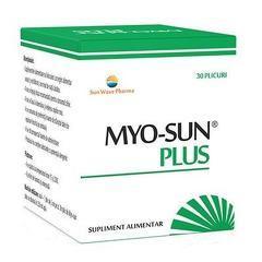 Myo-Sun Plus pentru stimularea functiei ovariene 30 Plicuri