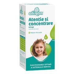 ALINAN SIROP ATENTIE & CONCENTRARE 150ML