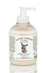 Sapun lichid hidratant pentru maini  fata si corp cu lapte de magarita  La Dispensa  300 ml