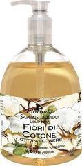 Sapun lichid vegetal hidratant cu flori de bumbac si ulei de Jojoba  Florinda  500 ml La Dispensa