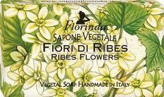 Sapun vegetal cu flori de coacaz Florinda  100 g La Dispensa