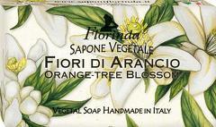 Sapun vegetal cu flori de portocali Florinda  100 g La Dispensa