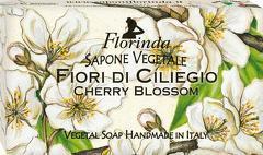Sapun vegetal cu flori de cires Florinda  100 g La Dispensa