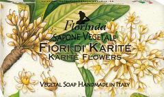 Sapun vegetal cu flori de Shea Florinda 100 g La Dispensa
