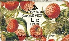 Sapun vegetal cu litchi Florinda  100 g La Dispensa