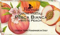 Sapun vegetal cu piersici albe Florinda  100 g La Dispensa
