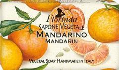 Sapun vegetal cu mandarine Florinda  100 g La Dispensa