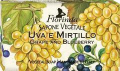 Sapun vegetal cu struguri si afine Florinda  100 g La Dispensa