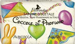 Sapun vegetal cu caise Florinda  100 g La Dispensa