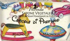 Sapun vegetal cu magnolii Florinda  100 g La Dispensa