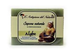 Sapun natural cu extract de alge marine si ulei de cocos  100 g Laboratorio Naturale