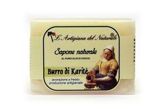 Sapun natural cu unt de shea si ulei de cocos  100 g Laboratorio Naturale