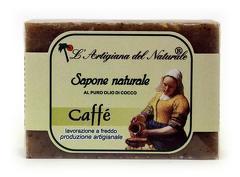 Sapun natural cu extract de cafea si ulei de cocos  100 g Laboratorio Naturale