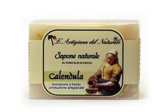 Sapun natural cu ulei esential de galbenele si ulei de cocos  100 g Laboratorio Naturale