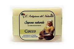 Sapun natural cu ulei de cocos  100 g Laboratorio Naturale