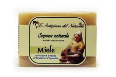 Sapun natural cu miere si ulei de cocos  100 g Laboratorio Naturale