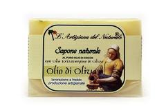 Sapun natural cu ulei de masline extravirgin si ulei de cocos  100 g Laboratorio Naturale