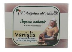 Sapun natural cu vanilie si ulei de cocos  100 g Laboratorio Naturale