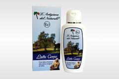 Crema de corp BIO cu lapte de magarita si ulei de masline extravirgin  200 ml Laboratorio Naturale