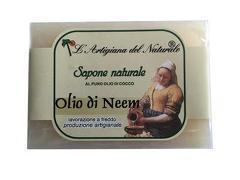 Sapun natural cu ulei de Neem si ulei de cocos  100 g Laboratorio Naturale