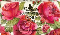 Sapun vegetal cu trandafiri Florinda  100 g La Dispensa