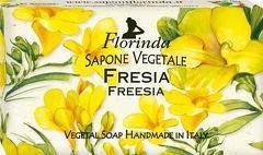 Sapun vegetal cu frezie Florinda  100 g La Dispensa
