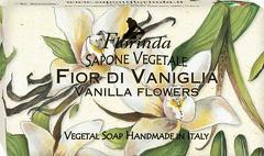 Sapun vegetal cu vanilie Florinda  100 g La Dispensa