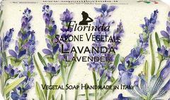 Sapun vegetal cu lavanda Florinda  100 g La Dispensa
