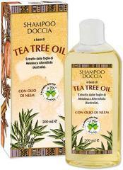 Sampon gel de dus hidratant cu ulei din arbore de ceai si ulei de neem  La Dispensa  200 ml