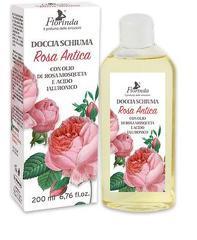 Gel de dus cu acid hialuronic si ulei de Rosa Moscheta  Rosa Antica - La Dispensa  200 ml
