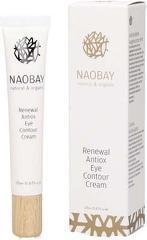 Crema contur de ochi BIO antioxidanta si regeneranta  Naobay  20 ml