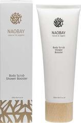 Exfoliant pentru corp BIO hidratant pe baza de sare si ulei de masline  Naobay  250 ml