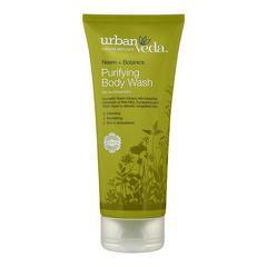 Gel de dus cu ulei de neem organic  Purifying - Urban Veda  200 ml