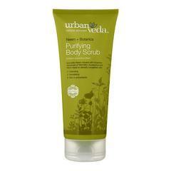 Exfoliant pentru corp cu ulei de neem organic  Purifying - Urban Veda  200 ml