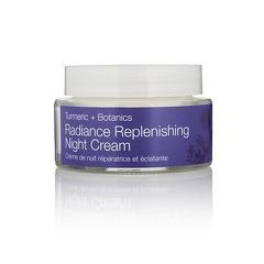 Crema puternic hidratanta de noapte cu extract de turmeric - ten uscat  Radiance - Urban Veda  50 ml