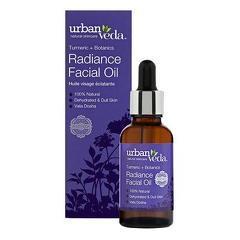 Ulei  facial pentru ten uscat  Radiance - Urban Veda  30 ml