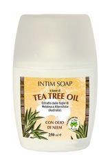 Sapun intim cu ulei de arbore de ceai si ulei de Neem  La Dispensa  250 ml