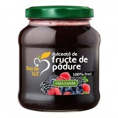 Dulceata Din Fructe De Padure Fara Zahar 360g DACIA PLANT