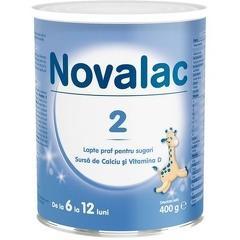 Lapte praf Novalac 2 400gr