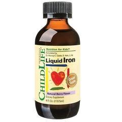 Liquid Iron 10mg 118.50ml (gust de fructe)