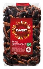 Fasole uriasa colorata bio, Fairtrade, 500g DAVERT
