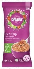Rice cup (orez) mediteranean bio 69g DAVERT