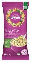Noodle cup cu branza si broccoli bio 64g DAVERT