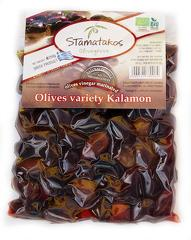 Masline Kalamata vidate marinate in otet bio 250g