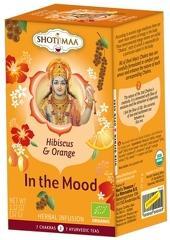 Ceai Shotimaa Chakras - In The Mood - hibiscus si portocale bio 16dz