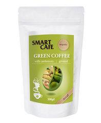 Cafea verde macinata decofeinizata cu cardamom bio 200g